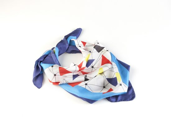 diseños unicos de pañuelos de seda