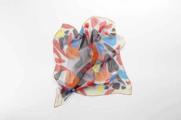 accesorios de seda únicos en chifon de seda