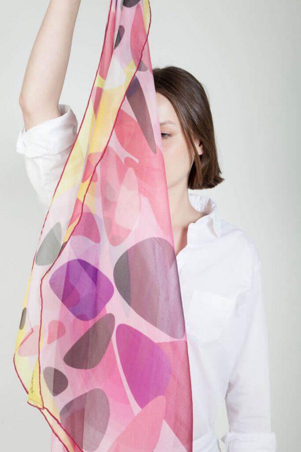pañuelos de chifon exclusivos hechos en españa