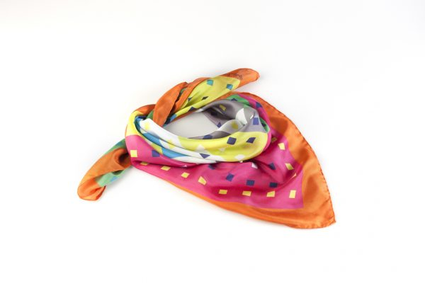 colourful silk bandana
