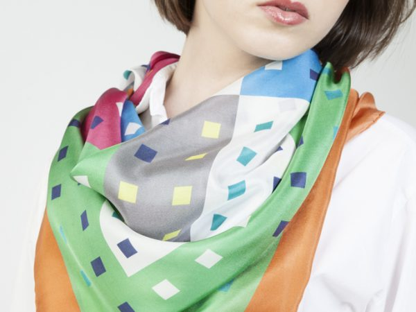 beautiful and luxury silk scarves