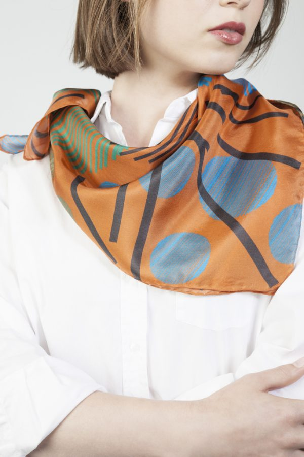 elegant silk scarves for people with character