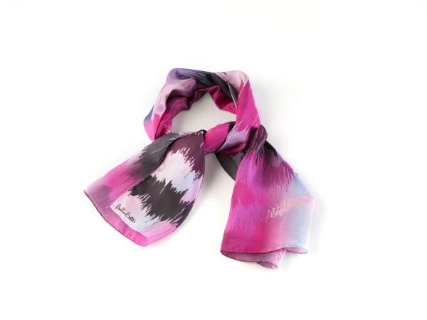 Sunsent silk twill foulard