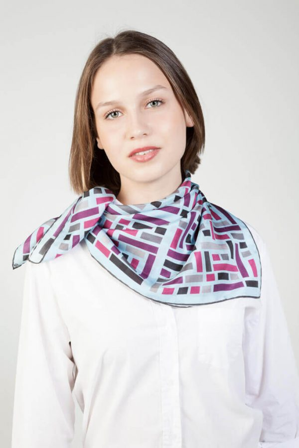 stylish and elegant silk scarf