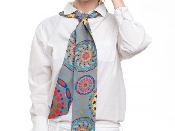 precioso accesorio de seda hecho españa exclusivo