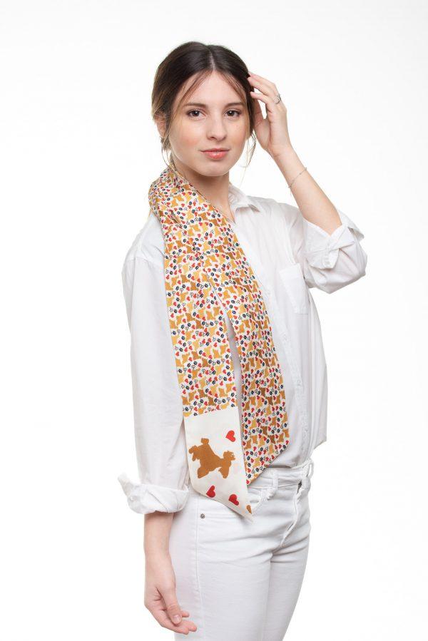 diseño exclusivo en seda elegante