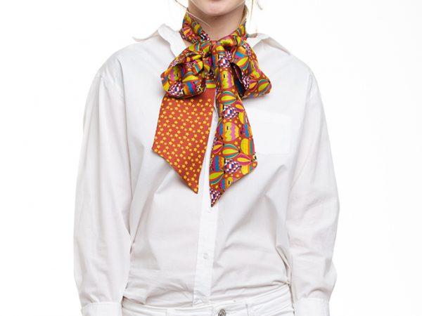 estiloso lazo de seda accesorio perfecto