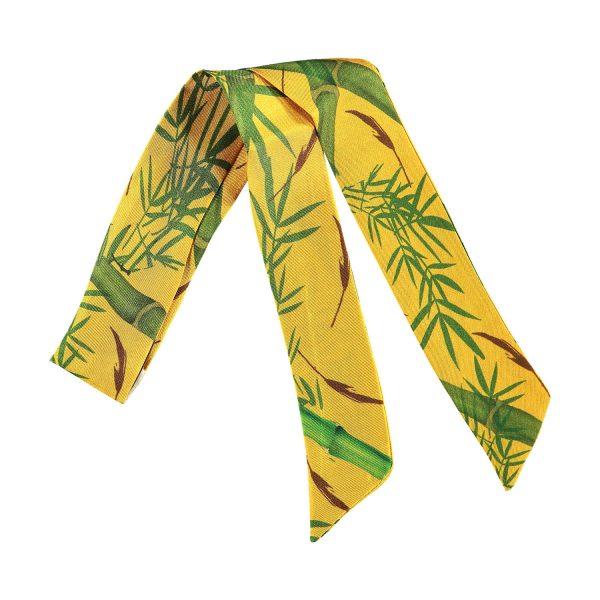 accesorio de seda para brazalete y gargantilla